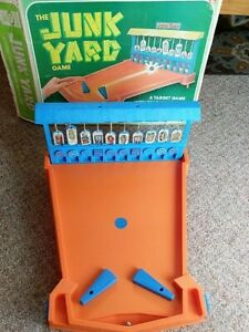1975 Vintage Ideal THE JUNK YARD Pinball Action Game A Target Game