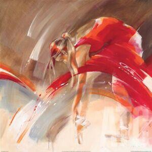 "27W""x27H"" NEW SHOES by KITTY MEIJERING - DANCE BALLET BALLERINA MUSIC ART CANVAS"