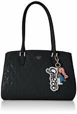 GUESS Women's Tabbi No Pins Girlfriend Satchel Handbag Bag