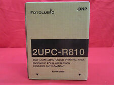 Fotolusio 2UPC-R810 Self Laminating Color Printing Pack *NEW*