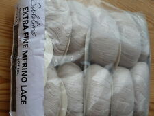 250g SUBLIME EXTRA FINE MERINO LACE KNITTING CROCHET YARN  397