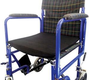 Foam Wheelchair Sag Levelling Flexion Foam Cushion With Cover