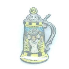 Borussia Dortmund BVB Pin Deutscher Meister 2011 Bierkrug Bundesliga #154