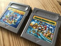 Super Mario Land1 & 2(6GoldCoin) Set Japan Ver Nintendo Game Boy