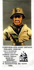 SOLDAT GL200.02 - CORPORAL 4th LIGHT DETACH FINLAND 1939 BUST 200mm RESIN KIT