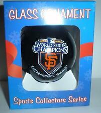 SF SAN FRANCISCO GIANTS 2010 WORLD SERIES CHAMPS champions Christmas ORNAMENT #3
