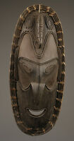 Masque d'esprit Angoram, spirit mask, art tribal papou