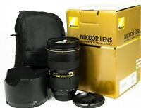 Nikon Nikkor AF G ED 24-70mm f/2.8 IF Lens Boxed
