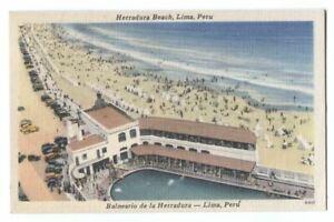 Postcard Herradura Beach Lima  Peru