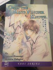 Only the Ring Finger Knows Manga YAOI by Hotaru Odagiri (ENGLISH)