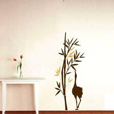 Bamboo Tree and Duck Wall Stickers Removable Decal Home Decor 90 x 35 cm