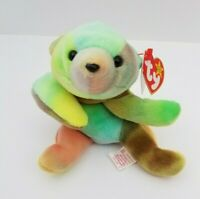 "TY Beanie Baby ""Sammy"" the Bear 1998, rare collectible tag gasport error"