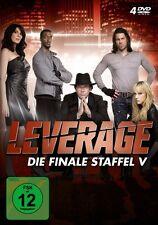 LEVERAGE - STAFFEL 5 4 DVD NEU