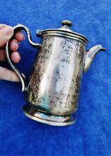 LA SALLE DU BOIS Restaurant, Washington, D.C. Vintage Silver Soldered Coffee Tea