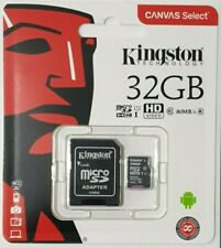 Kingston 32GB Micro SD Class 10 80MB/s For Nextbase 112 122 222 312GW Dash Cam