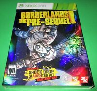 Borderlands: The Pre-Sequel Microsoft Xbox 360 with 3d cover sleeve new shipfast