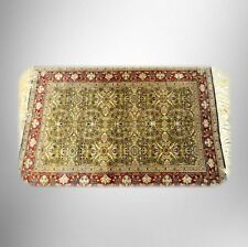 Kayseri Ipek silk on silk carpet rug - intricate design - FREE SHIPPING