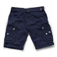 Scruffs Cargo Shorts With Belt Charcoal Grey/Navy/Khaki Men's Work Combat Trade