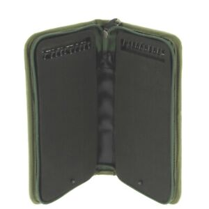 Stiff Rig Wallet with 20 Pins Green for Carp Fishing holds Hair Rigs safe