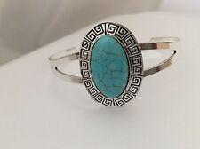 New Vibrant Women's Turquoise Bangle - Perfect Gift (bracelet, Cuff)