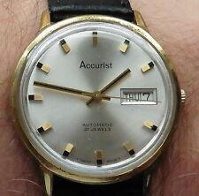1960s Accurist GP ETA 2538 21 Jewel Gents Automatic Day Date Watch serviced