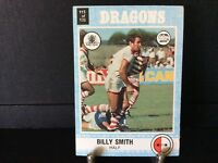 Billy Smith 1977 Scanlens Rugby League