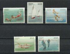 37229) Panama 1964 MNH Acquatic Sports 5v Scott# 454/54E