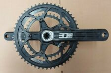 Rotor 3D+ Chainset 30mm Axle 172.5mm with 36T 52T noQ Rings USED PM9