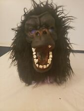 Scary Gorilla Mask Great For Halloween Full Head