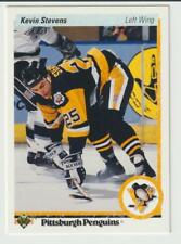 Kevin Stevens Pittsburgh Penguins #14 Upper Deck Rookie - See scans