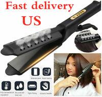 Hair Straightener Styler Ceramic Tourmaline Ionic Flat Iron Professional Glider