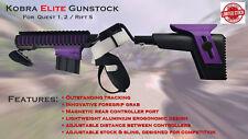 Kobra Elite gunstock Quest 1 + 2  / Rift S  VR controllers