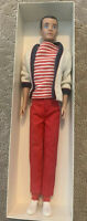 Vintage 1960 Mattel Ken Doll W/ Painted Hair and Original Outfit