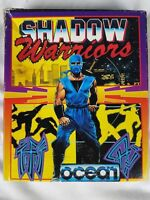 Shadow Warriors Commodore Amiga Ocean Working