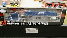 DCP #30306 SYSTEM TRANSPORT Inc CENTURY SEMI TRUCK TARPED FLAT BED TRAILER 1:64/