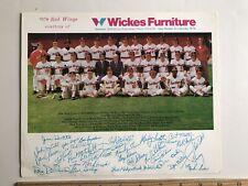"1974 Rochester Red Wings Team Photo w/ Joe Altobelli 8"" x 10"" Baseball Promo"