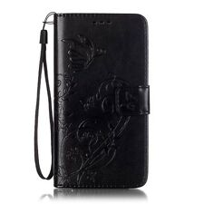 Fashion Pretty Embossed Wallet Stand Flip PU Leather Case Soft Cover For Phone