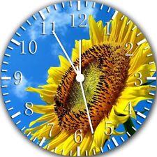Sun Flower Frameless Borderless Wall Clock Nice For Gifts or Decor Z175