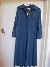 Joules Blue Jersey Feel Dress in Size 14 - missing belt