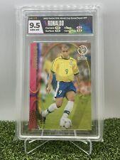 2002 Panini World Cup Korea Japan Ronaldo #37 HGA 9.5