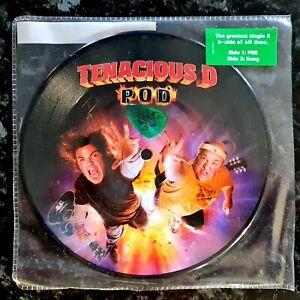 "Tenacious D - POD / Kong - New Unplayed 2006 7"" Picture Disc"