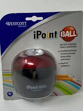 NEW Westcott Ipoint Battery Operated Pencil Sharpener