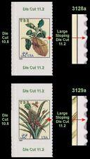 Merian Botanical 3128a 3129a Scarce Sideways Variety Set From BK261 MNH -Buy Now