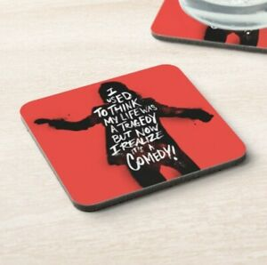 The Joker - Quote - Drinks Coaster