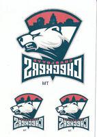 15/16 UPPER DECK AHL TATTOOS #5 CHARLOTTE CHECKERS *16552
