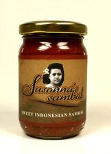 Susanna's Sweet Indonesian Sambal - mild scharf, Chili Paste, Rawit Chili