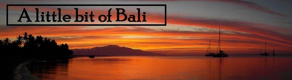 a little bit of bali