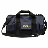 Irwin BUILDERS TOOLBAG 500mm 27 POCKETS IR22616 Tough Polyester - USA Brand