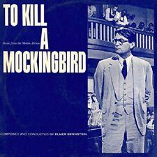 To Kill A Mockingbird/Blues And Brass Soundtrack Cd New Sealed Elmer Bernstein