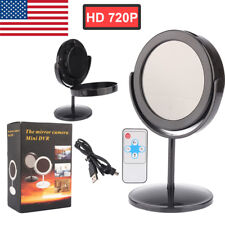 Mini Mirror Motion Detection DV Spy Video Camera Hidden DVR Cam Camcorder US
